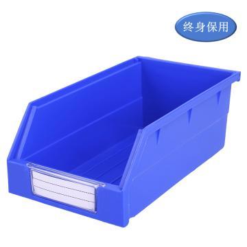 Raxwell 背掛零件盒 物料盒,外尺寸規格D*W*H(mm):190×105×75,全新料,藍色,單位:個