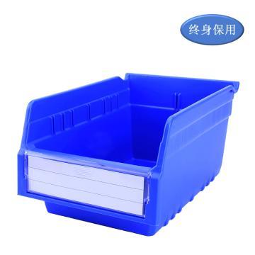 Raxwell 精益零件盒 物料盒,外尺寸规格D*W*H(mm):300×200×150,全新料,蓝色,单位:个