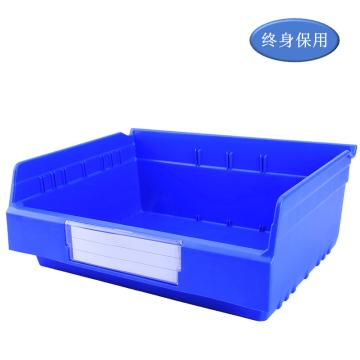 Raxwell 精益零件盒 物料盒,外尺寸规格D*W*H(mm):300×400×150,全新料,蓝色,单位:个