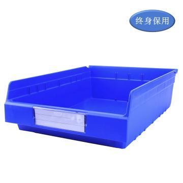 Raxwell 精益零件盒 物料盒,外尺寸规格D*W*H(mm):500×400×150,全新料,蓝色,单位:个