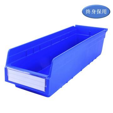 Raxwell 精益零件盒 物料盒,外尺寸规格D*W*H(mm):600×200×150,全新料,蓝色,单位:个
