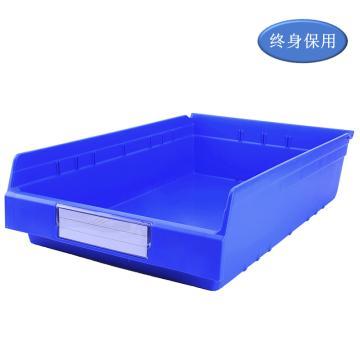 Raxwell 精益零件盒 物料盒,外尺寸規格D*W*H(mm):600×400×150,全新料,藍色,單位:個