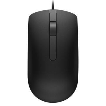 戴爾光學鼠標,MS116(黑色)