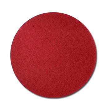 西域推荐 17寸红百洁垫,5片/盒