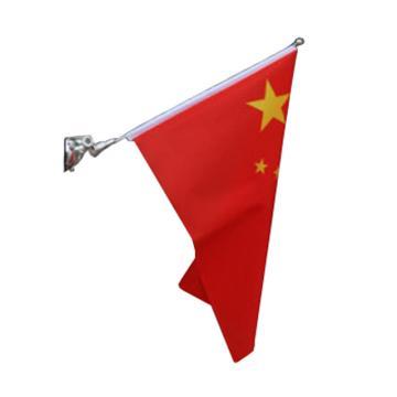 西域推薦 壁掛吸盤式的國旗,35cm長