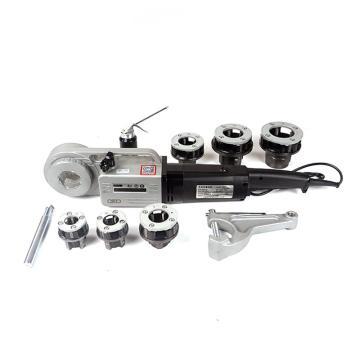 虎王 電動手持套絲機輕型2寸車絲機鋼管水管消防管鍍鋅管 手持式,SQ30-2B(2寸機)