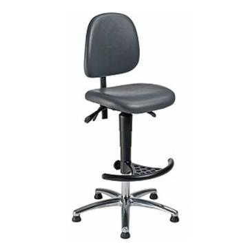 邁確爾 工作椅,黑色仿皮高度調幅610-860mm(散件不含安裝),WF-H-KL-FS3