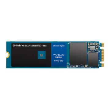 西部數據固態硬盤,Blue系列 藍盤 250G SSD NVMe WDS250G1B0C SN500