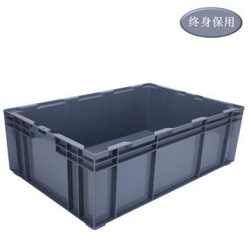 Raxwell HP系列灰色周轉箱HP6C 尺寸(mm),外:650*435*210/內:605*390*195