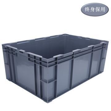 Raxwell HP系列灰色周轉箱HP6D 尺寸(mm):外:650*435*260/內:605*390*246