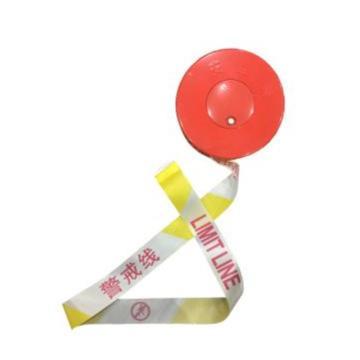 襄辰 永久性警示带,警戒线,黄白,宽5cm(按100米的整数倍下单)