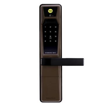耶鲁 智能电子门锁,YDM-7111,棕色