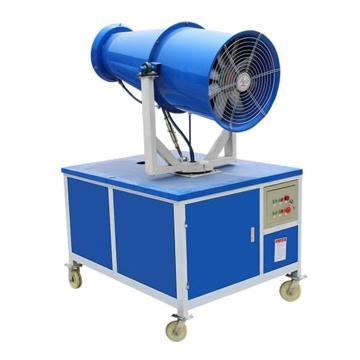 西域推荐 固定车载通用式自动除尘雾炮机(风筒电机和水泵电机为节能型电机),RHL-80,80米