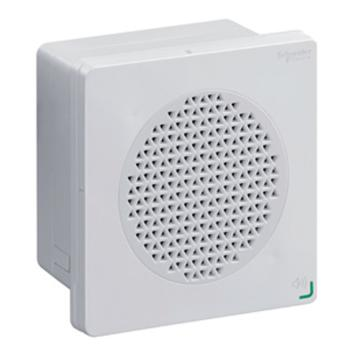 施耐德Schneider 進口 XVS聲音報警器,可編輯語音報警器(DIN96)-12/24 DC-NPN-白,XVSV9BWN