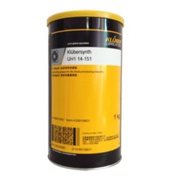 克鲁勃 润滑脂,Klubersynth UH1 14-151,1KG/罐