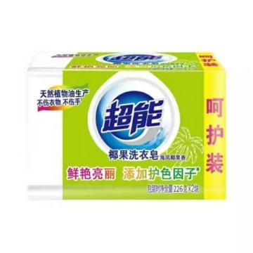 超能洗衣皂,226g*2 單位:套