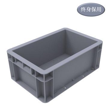 Raxwell EU系列灰色周轉箱EU2311 尺寸(mm):300×200×120
