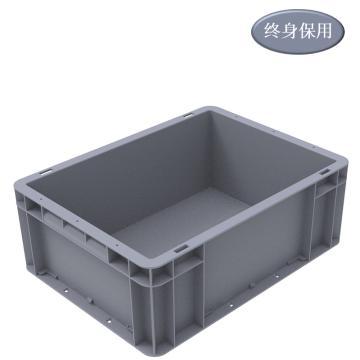 Raxwell EU系列灰色周轉箱EU43148 尺寸(mm):400*300*148