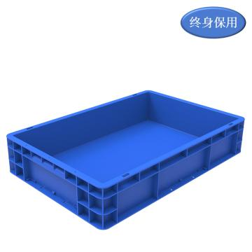 Raxwell EU系列藍色周轉箱EU4611 尺寸(mm):600*400*120