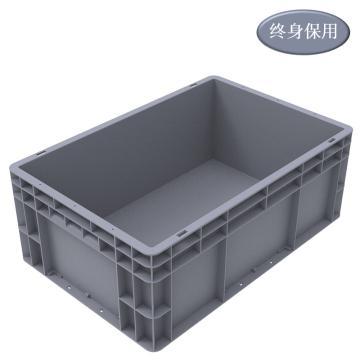 Raxwell EU系列灰色周轉箱EU4622 尺寸(mm):600*400*230