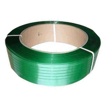 Raxwell 手用PET打包帶,寬*厚:19mm*0.8mm,20kg/卷,綠色有壓花,全新料,有卷芯