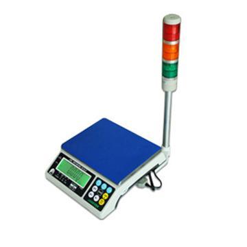 杰特沃 三色灯报警电子计重秤,3kg,最小感量0.1g(加卡加灯)