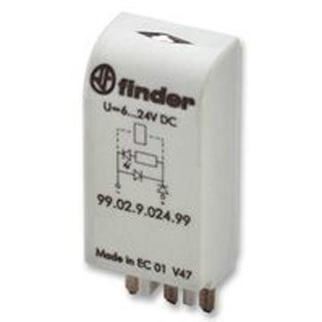 Finder 继电器底座,95.05SPA 10个/盒
