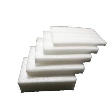 西域推荐 开口棉 白色epe珍珠棉泡沫板 长55*宽35CM 厚3MM(长边带等距豁口)