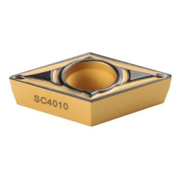刃天行 刀片,DCMT11T304-PL SC4010,10片/盒
