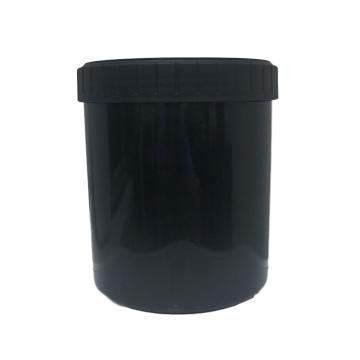 BQ 广口罐,黑色,1000ml,6个/包
