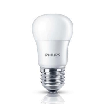 飛利浦 3.5W LED小球泡,3.5W E27 黃光,單位:個