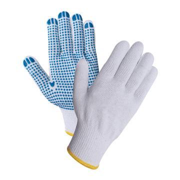 星宇 10针涤棉纱线点珠手套,12副/打