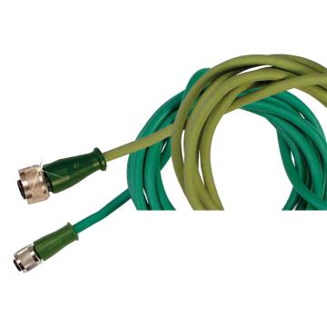 OMEGA K型熱電偶延長線,1.5m M12C-SIL-K-S-F-1.5