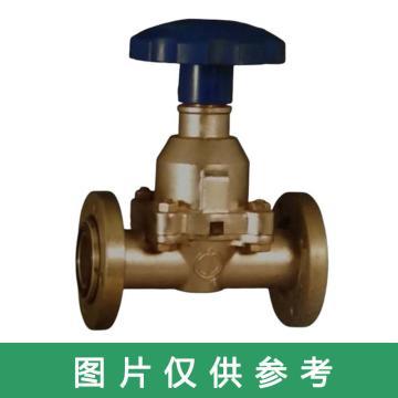 上海阀门二厂 高真空隔膜阀,GM50 DN50