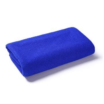 小方巾,纖維小毛巾 30x30藍色
