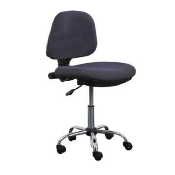 佰斯特 防静电纺织面工作椅,370-450mm 钢制五星爪 深灰色 ,Y-7(不含扶手)