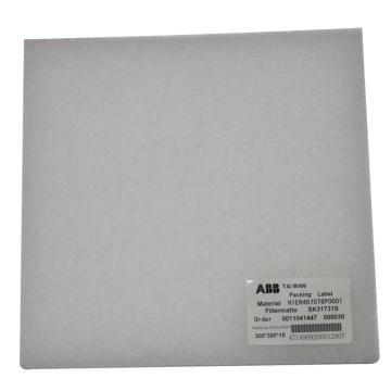 中能電力 ABB勵磁調節柜濾網,HIER467078P0001 300×300×15,廠家編號LABB2018022,勵磁系統用