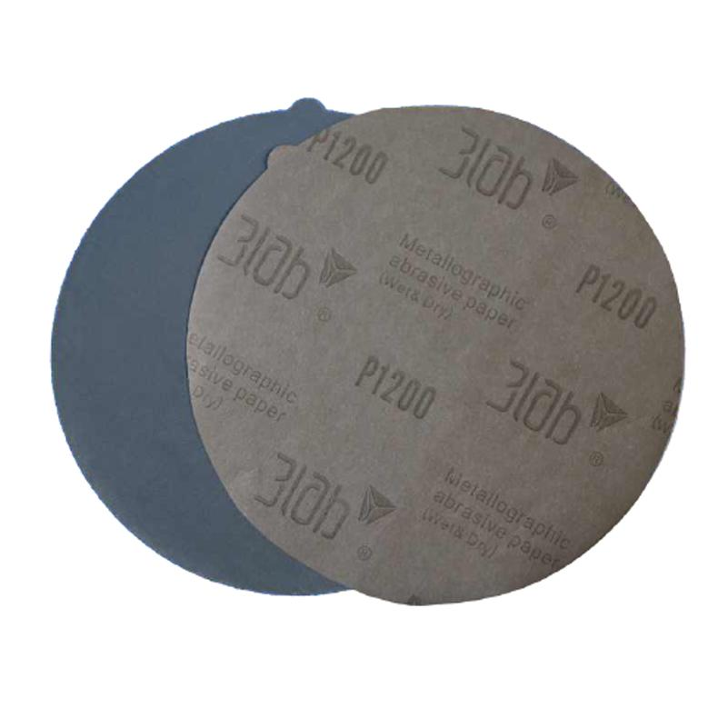 三灵金相砂纸,P180,230mm无背,100张/小盒