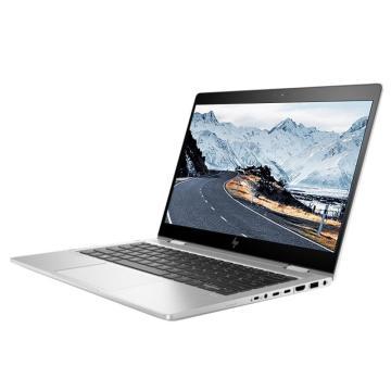 """惠普笔记本,Elitebook x360 830G6 7LP10PC银i5-8265/13.3"""" 触摸屏/8G/512G/集显/win10-h1年 包鼠"""