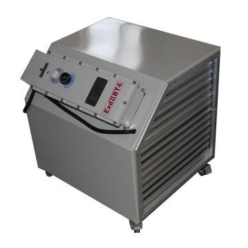 玛德安 防爆电热温控暖风机(移动式),BDKN-7.5,功率7.5KW,380V,防爆等级ExdIIB T4