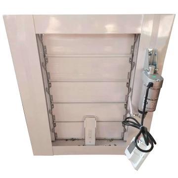 众盛 铝合金智能电动百叶窗,3500(mm)宽*3000(mm)高