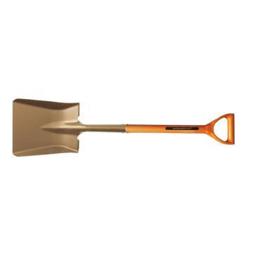 卡索 玻璃纤维D柄防爆方锨,230*270mm,铝青铜,1005D-270A