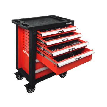 易爾拓 177件套6抽屜工具車托盤組套,YT-55300