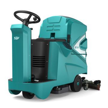 特沃斯T90/70R双刷驾驶式洗地机