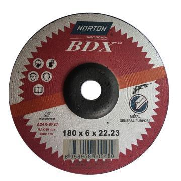 诺顿BDX角磨片,通用型,180x6x22.2