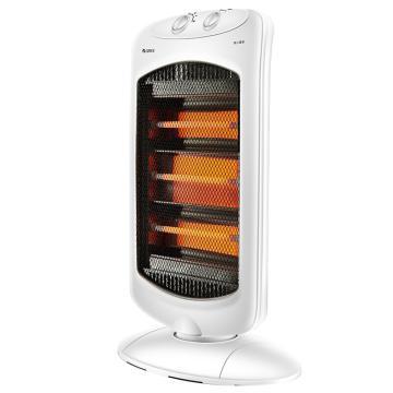 格力 远红外取暖器,NSD-12-WG,1200W,3档,手提,大角度摇头,倾倒断电,速热,防烫