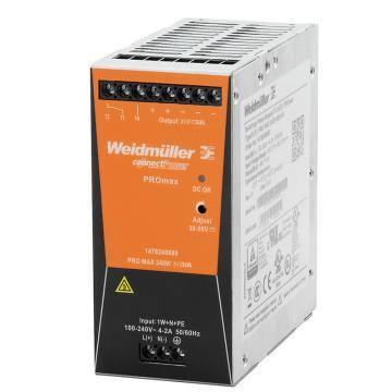 魏德米勒Weidmuller 电源模块,1478130000 PRO MAX 240W 24V 10A(替代CP SNT 250W 24V 10A)