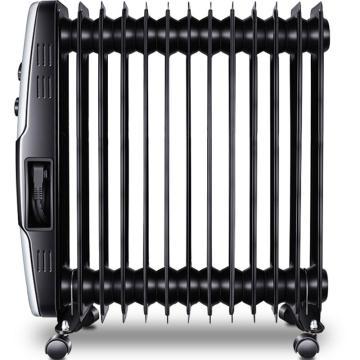 格力 电热油汀,NDY07-X6026a,2100W,三档,13片大油路,双U加热,倾倒断电,智能恒温省电
