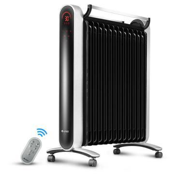 格力 电热油汀,NDY16-X6026B,2600W,三档,免充油,数显智能恒温省电,过热+倾倒断电保护