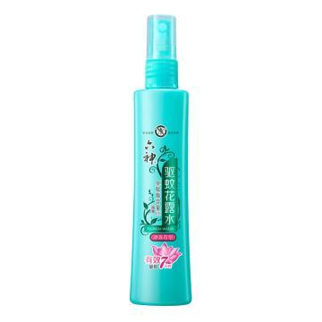 六神(LIUSHENG) 噴霧驅蚊花露水(冰蓮香型),驅蚊止癢戶外防蚊液 戶外蚊怕水 180ml 單位:瓶